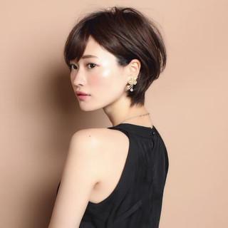 30代 ショート 辺見えみり 田丸麻紀 ヘアスタイルや髪型の写真・画像