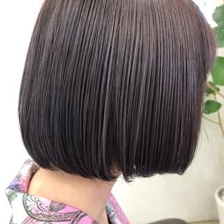 ウェット感 ブルーグラデーション セミウェット ガーリー ヘアスタイルや髪型の写真・画像