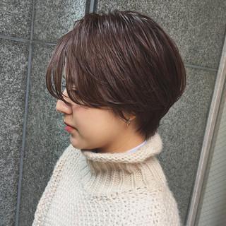 マッシュ 女子力 ヘアオイル ナチュラル ヘアスタイルや髪型の写真・画像