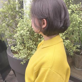 まとまるボブ ナチュラル モテボブ ボブ ヘアスタイルや髪型の写真・画像