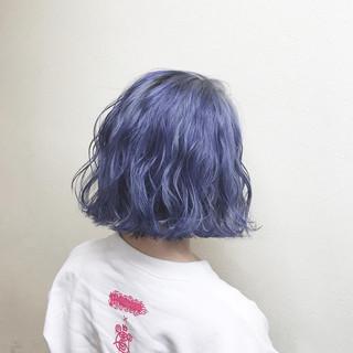 ダブルカラー ガーリー 外国人風カラー ハイライト ヘアスタイルや髪型の写真・画像