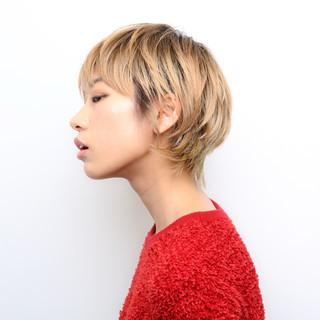 似合わせカット モード ショート 阿藤俊也 ヘアスタイルや髪型の写真・画像