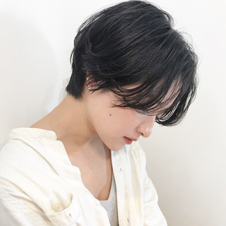 ナチュラル ヘアアレンジ デート ショート ヘアスタイルや髪型の写真・画像