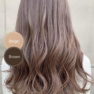 ショートボブ ショートヘア セミロング インナーカラー ヘアスタイルや髪型の写真・画像