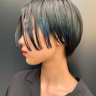 ストリート 阿藤俊也 ショート 似合わせカット ヘアスタイルや髪型の写真・画像
