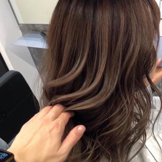 バレイヤージュ 成人式 外国人風カラー ストリート ヘアスタイルや髪型の写真・画像