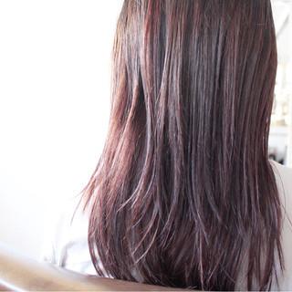 ラベンダーアッシュ おフェロ ラベンダーピンク ラベンダー ヘアスタイルや髪型の写真・画像