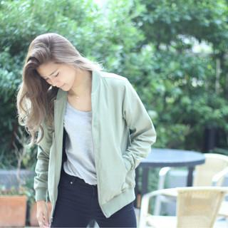 ストリート 大人女子 かっこいい グラデーションカラー ヘアスタイルや髪型の写真・画像