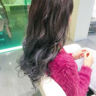 イルミナカラー モード 外国人風カラー ロング ヘアスタイルや髪型の写真・画像 ヘアスタイルや髪型の写真・画像