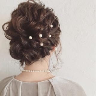 アップスタイル ツイスト 編み込み ロープ編み ヘアスタイルや髪型の写真・画像