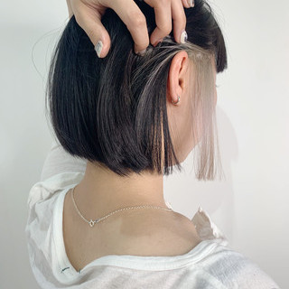 ミニボブ ボブ ストリート ショートボブ ヘアスタイルや髪型の写真・画像