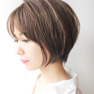 エフォートレス ショート 女子力 大人かわいい ヘアスタイルや髪型の写真・画像