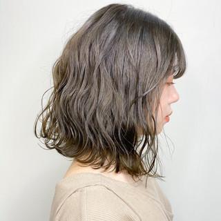 外国人風カラー ミニボブ ストリート インナーカラー ヘアスタイルや髪型の写真・画像