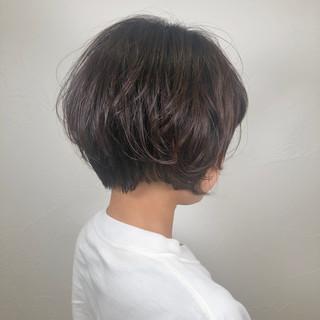 パーマ スポーツ ショート デート ヘアスタイルや髪型の写真・画像