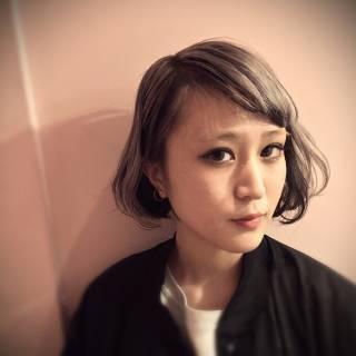 春 モード ボブ パンク ヘアスタイルや髪型の写真・画像