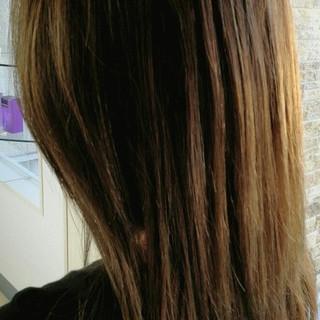 外国人風 外国人風カラー ハイライト コンサバ ヘアスタイルや髪型の写真・画像 ヘアスタイルや髪型の写真・画像
