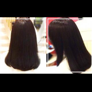 艶髪 ロング 社会人の味方 ナチュラル ヘアスタイルや髪型の写真・画像