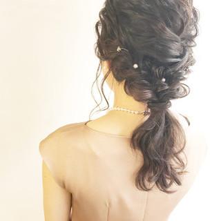 ヘアアレンジ 成人式 エレガント 結婚式 ヘアスタイルや髪型の写真・画像