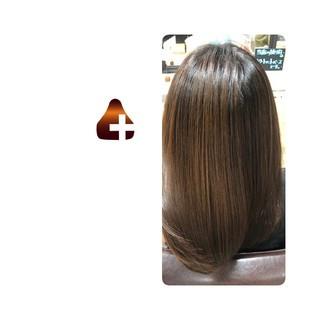 美髪 セミロング 名古屋市守山区 トリートメント ヘアスタイルや髪型の写真・画像
