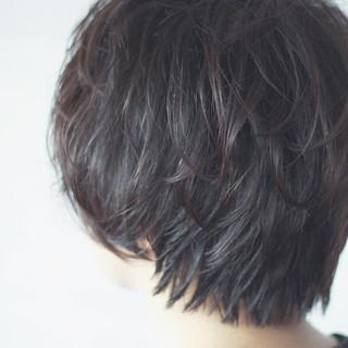 ショート ナチュラル 色気 女子力 ヘアスタイルや髪型の写真・画像