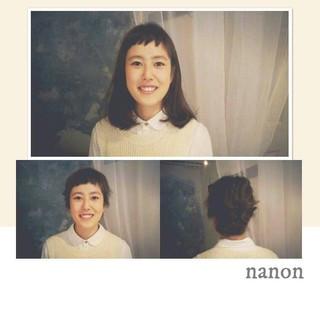 ナチュラル ピュア 夏 ミディアム ヘアスタイルや髪型の写真・画像
