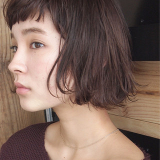 ピンク ナチュラル ニュアンス こなれ感 ヘアスタイルや髪型の写真・画像