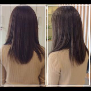 社会人の味方 大人ヘアスタイル ロング 髪質改善 ヘアスタイルや髪型の写真・画像