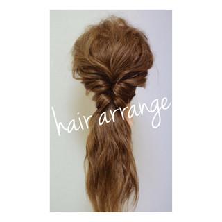 簡単ヘアアレンジ フェミニン ハーフアップ ヘアアレンジ ヘアスタイルや髪型の写真・画像