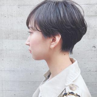 ワンカールパーマ ナチュラル 毛先パーマ パーマ ヘアスタイルや髪型の写真・画像