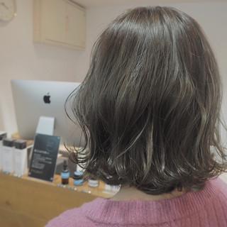 ボブ ナチュラル 外国人風 イルミナカラー ヘアスタイルや髪型の写真・画像 ヘアスタイルや髪型の写真・画像