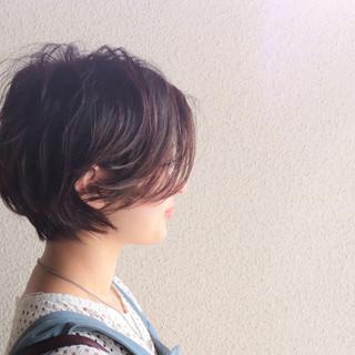 ショート ショートボブ ショートヘア ベリーショート ヘアスタイルや髪型の写真・画像