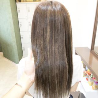 ナチュラル ロング ブリーチ ヘアアレンジ ヘアスタイルや髪型の写真・画像
