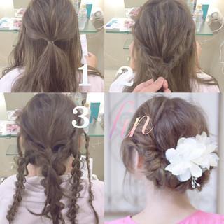 ガーリー ロング ゆるふわ 夏 ヘアスタイルや髪型の写真・画像