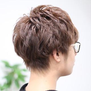ボーイッシュ ショート メンズ モテ髪 ヘアスタイルや髪型の写真・画像