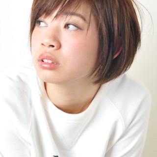 外国人風 アッシュ 大人かわいい ボブ ヘアスタイルや髪型の写真・画像