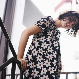 色気 ボブ 外国人風カラー ストリート ヘアスタイルや髪型の写真・画像