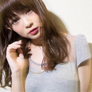 モテ髪 ピュア 外国人風 セミロング ヘアスタイルや髪型の写真・画像