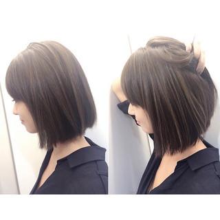 滝沢カレン ハイライト グラデーションカラー ボブ ヘアスタイルや髪型の写真・画像