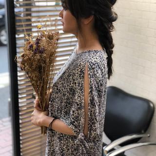ロング 簡単ヘアアレンジ 髪質改善 髪質改善トリートメント ヘアスタイルや髪型の写真・画像