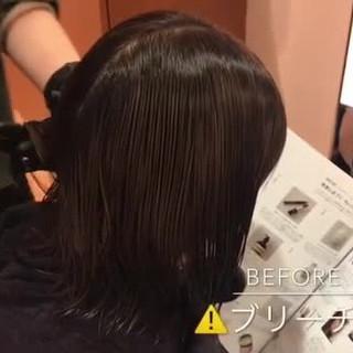 ナチュラル 透明感 簡単ヘアアレンジ 切りっぱなし ヘアスタイルや髪型の写真・画像