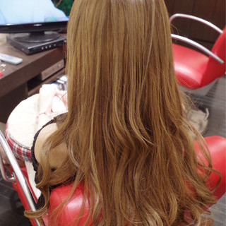 グラデーションカラー アッシュ 外国人風 ロング ヘアスタイルや髪型の写真・画像