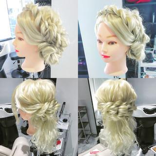 上品 まとめ髪 結婚式 エレガント ヘアスタイルや髪型の写真・画像