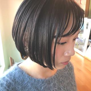 色気 ナチュラル ニュアンス フリンジバング ヘアスタイルや髪型の写真・画像