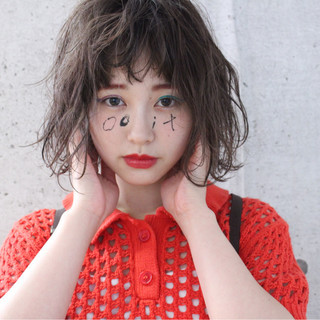 ボブ 外国人風 フェミニン エフォートレス ヘアスタイルや髪型の写真・画像