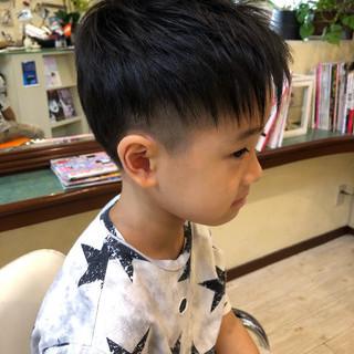 【男女別】キッズのショートヘアスタイル