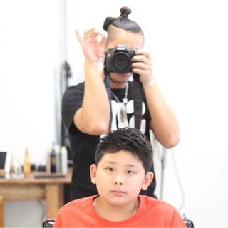 ショート ボーイッシュ 子供 メンズ ヘアスタイルや髪型の写真・画像 ヘアスタイルや髪型の写真・画像
