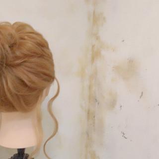 ショート ゆるふわ ロング 簡単ヘアアレンジ ヘアスタイルや髪型の写真・画像