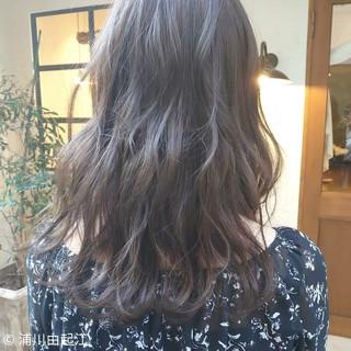 秋冬スタイル 大人かわいい フェミニン ハイライト ヘアスタイルや髪型の写真・画像