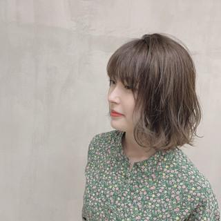 パーマ ナチュラル 外国人風カラー 透明感カラー ヘアスタイルや髪型の写真・画像 ヘアスタイルや髪型の写真・画像