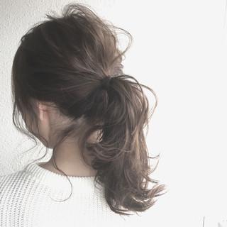 デート 大人女子 フェミニン ニュアンス ヘアスタイルや髪型の写真・画像